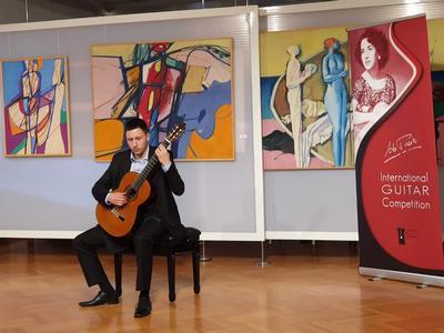 Lovro Peretić prvonagrađeni natjecatelj V solo kategorije MGNIP